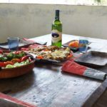 Tinting økologisk mat med vin